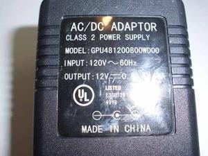 Transformador 12v-800ma Router/modem, Somos Tienda En Caraca