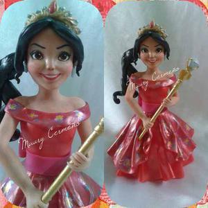 Adornos Para Tortas En Masa Flexible Princesas Disney