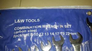 Juego De Llaves L & W Tools