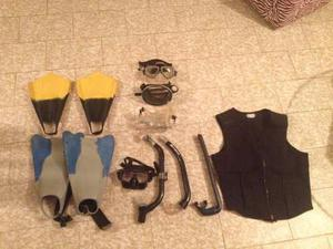 Kit Buceo Profesional Completo