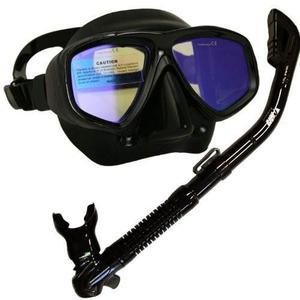 Mascara Y Snorkel De Buceo Profesional Promate-premium