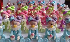 Recuerditos Baby Shower O Nacimiento En Masa Flexible