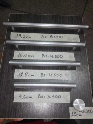 Tirador Barra De Aluminio (mejor Que En Acero) *oferta*