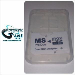 Adaptador Micro Sd A Memory Stick Pro Duo - Tienda Física
