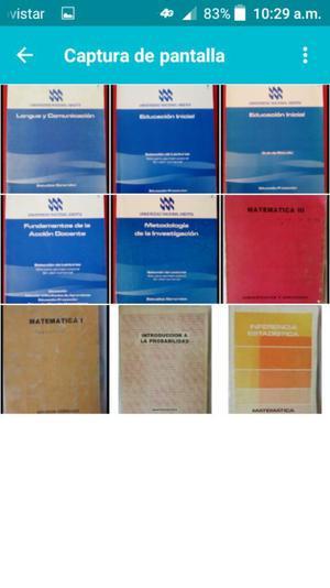 Colección Libros Una Son 9 Libros