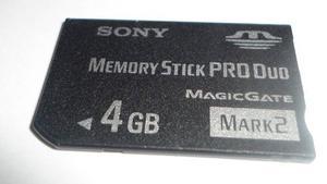 Memory Stick Produo 4 Gb Mark2 Sony