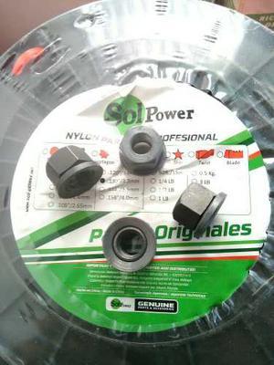 Tuerca Rosca Izquierda Desmalezadora 10mm Domopower Y Todas