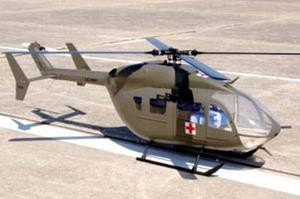 Vendo Fuselaje De Lakota Ec-145 Para Trex 600