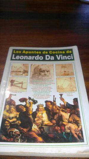 Apuntes de Cocina de Leonardo Da Vinci