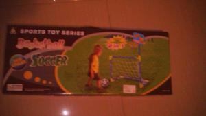 Cancha De Fútbol Y Basketball Para Niños