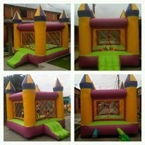 Castillo Inflable 3x3 Mt