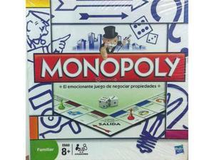 Clasico Juego De Mesa Monopolio Original Hasbro