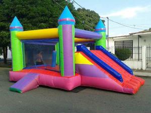 Colchon Inflable Para Fiestas Infantiles 6x4
