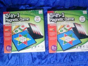 Juego De Mesa 5 En 1 Magnetic Game