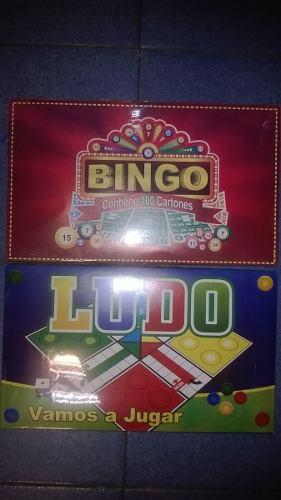 Juegos De Mesa. Bingo Y Ludo. Oferta!!!