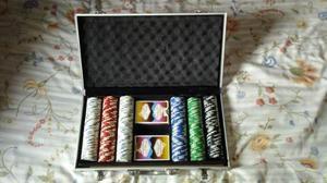 Maletín 300 Fichas Profesionales 11.5 Gramos Cartas Poker