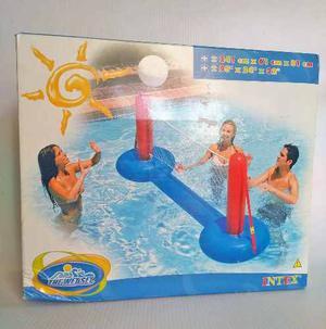 Malla De Voleibol Inflable Para Piscina O Playa