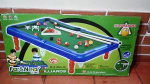 Mesa De Billar O Pool Juego Para Niños
