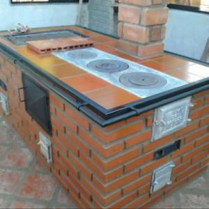 Estufas hornos y parrilleras de le a posot class for Planos de cocinas mejoradas a lena