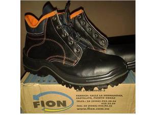 Botas de seguridad marca Fion. Talla 46 nuevas en su caja