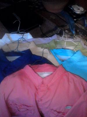 Camisas Tipo Columbia diversos colores talla 2xl Botton