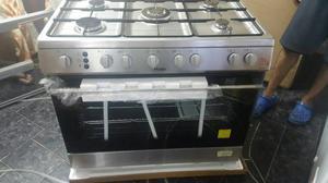 Cocina a gas 6 hornillas encendido electrico posot class for Cocina 06 hornillas