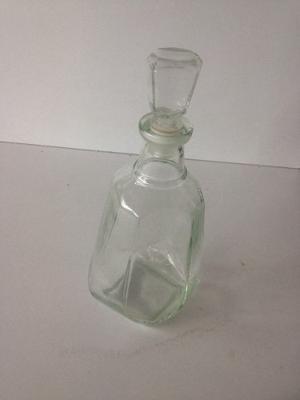 Botella De Vidrio Con Tapa De Vidrio Tipo Corcho