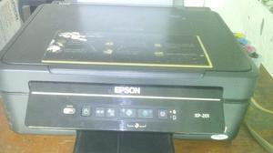Impresora Multifuncional Epson Xp201 Con Sistema De Tinta