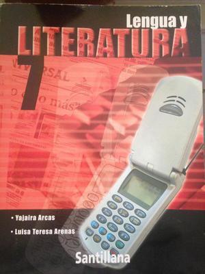 Lengua y Literatura 7mo, Ed: Santillana