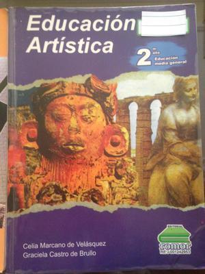 Libro de Educación Artística 8vo, Ed: Romor