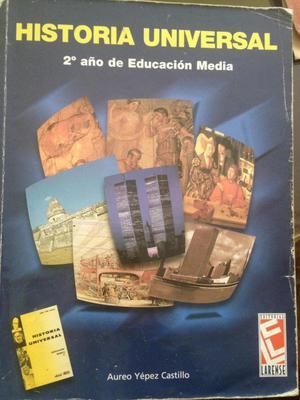 Libro de Historial Universal 8vo, Ed: Larense