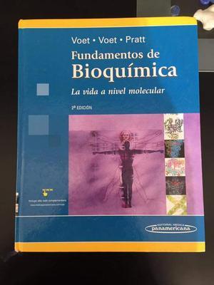 Se Vende Libro de Bioquimica Voet 2da Ed