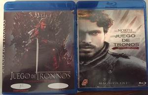 Series Bluray Game Of Thrones Temporada 1 Y 2