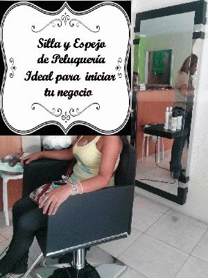 Silla de peluqueria hidraulica y reclinable posot class - Sillas de espera para peluqueria ...
