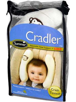 Soporte De Cabeza Ajustable Para Bebe Marca Cradler Original