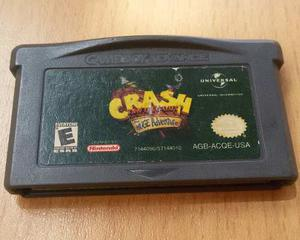Crash ¡huge Adventure! Game Boy Advance