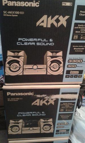 Equipos de Sonido Panasonic Scakx100