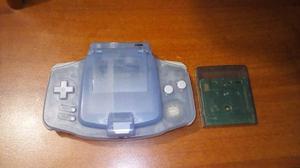 Game Boy Advanced Azul Con Lampara Usado
