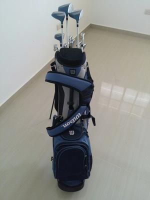 Palos De Golf Wilson + Pelotas
