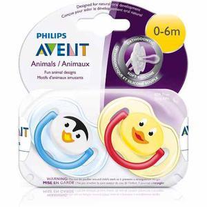 Set De 2 Chupones Anatómicos Natural Philips Avent 0-6