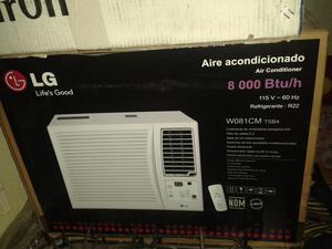 Aire acondicionado de ventana  BTU 110V Marca LG