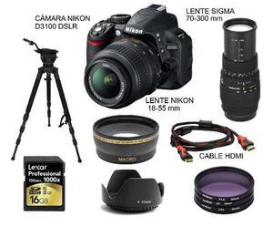 Alquiler De Cámara Nikon D / Fotógrafo Profesional
