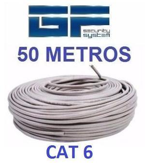 Cable Utp Cat 6 50 Metros Marca Wireplus Testeado