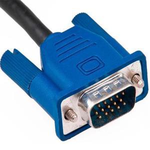 Cable Vga Macho Macho 1.5m 15 Pines Doble Filtro Monitor Mdj