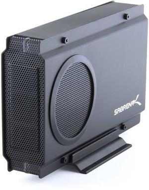 Case Externo Para Hdd Sata 3,5 Usb 3.0 Sabrent Fan Cooler