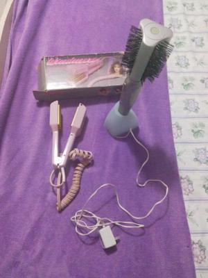 Cepillo Y Plancha Electrico