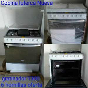 Cocina haier de 6 hornilla posot class for Cocina 06 hornillas