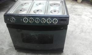 Cocina para empotrar de 6 hornillas de acero posot class for Cocina 06 hornillas