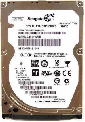 Disco Duro 320 Gb Laptop Seagate