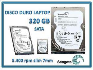 Disco Duro Laptop Seagate Sata 320gb Pc&laptop Nuevo
